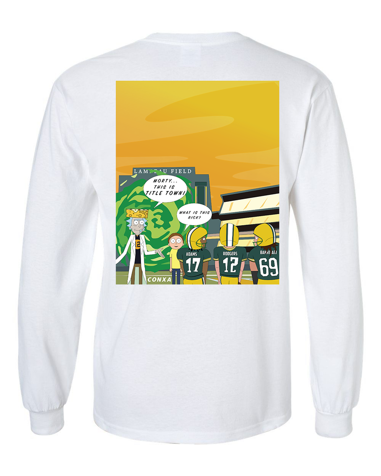 Rick and Morty X GB Packers