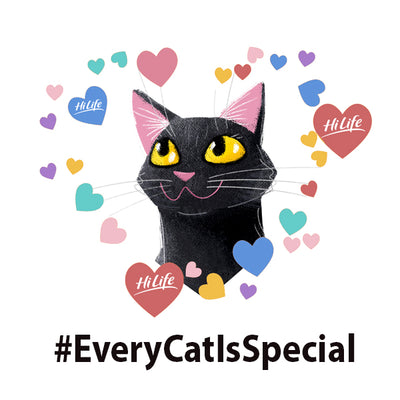 "Our friends support HiLife ""Every Cat is Special"""