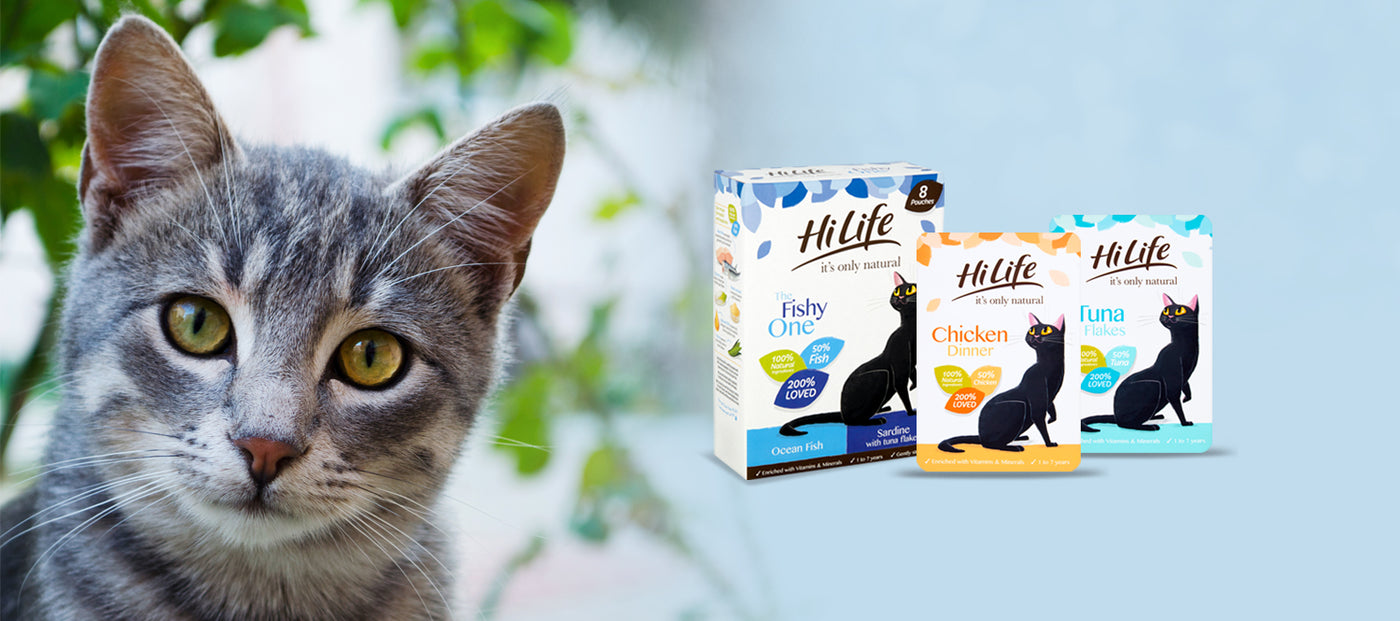 HiLife it's only natural Cat Food
