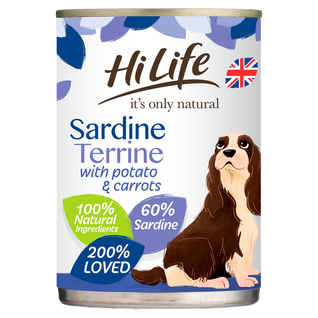 HiLife its only natural Sardine Terrine with Potato & Carrots