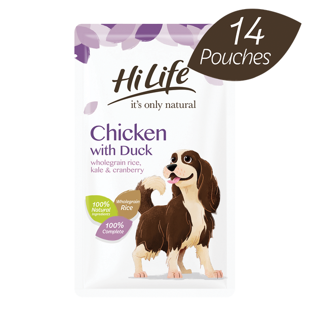 HiLife its only natural Complete Chicken with Duck