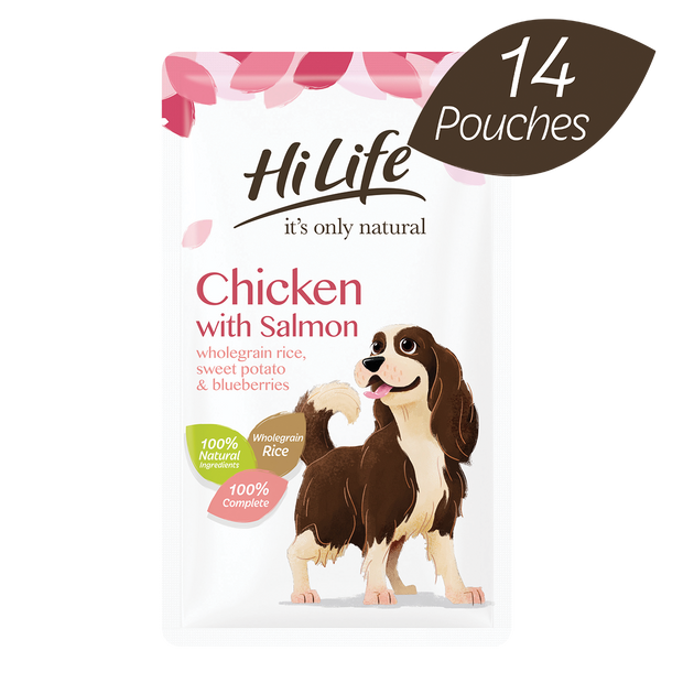 HiLife its only natural Complete Chicken with Salmon