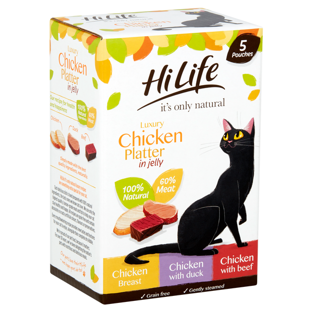 HiLife its only natural Luxury Chicken Platter