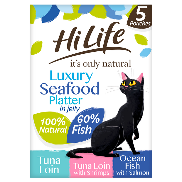 HiLife its only natural Luxury Seafood Platter