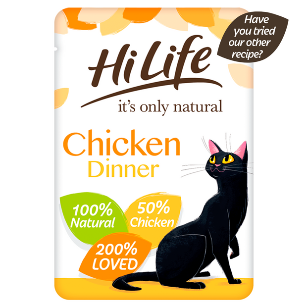 HiLife its only natural  Tuna Flakes
