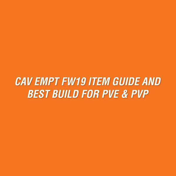 Item guide and best build for PVE & PVP