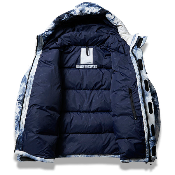 Mountain Range Down Jacket III - Tie Dye