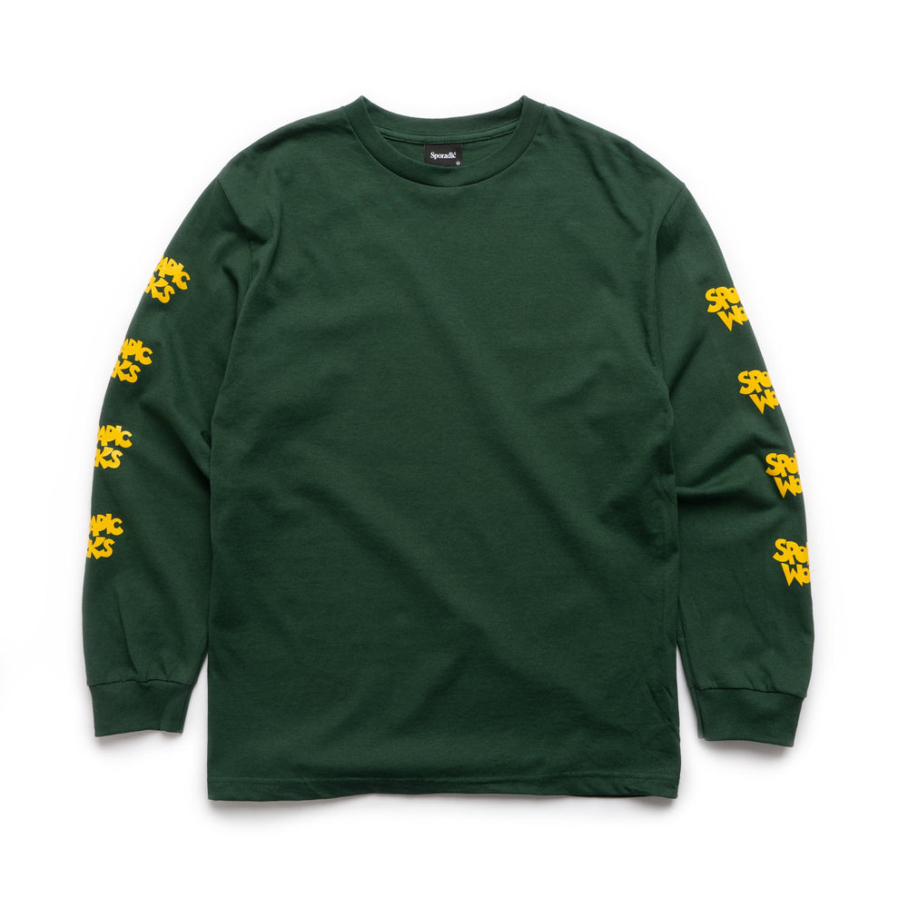 Sporadic Works LS Tee - Forest