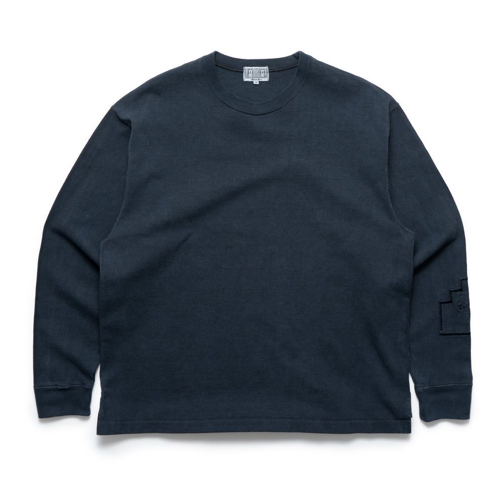 Society Heavy Long Sleeve - Washed Black