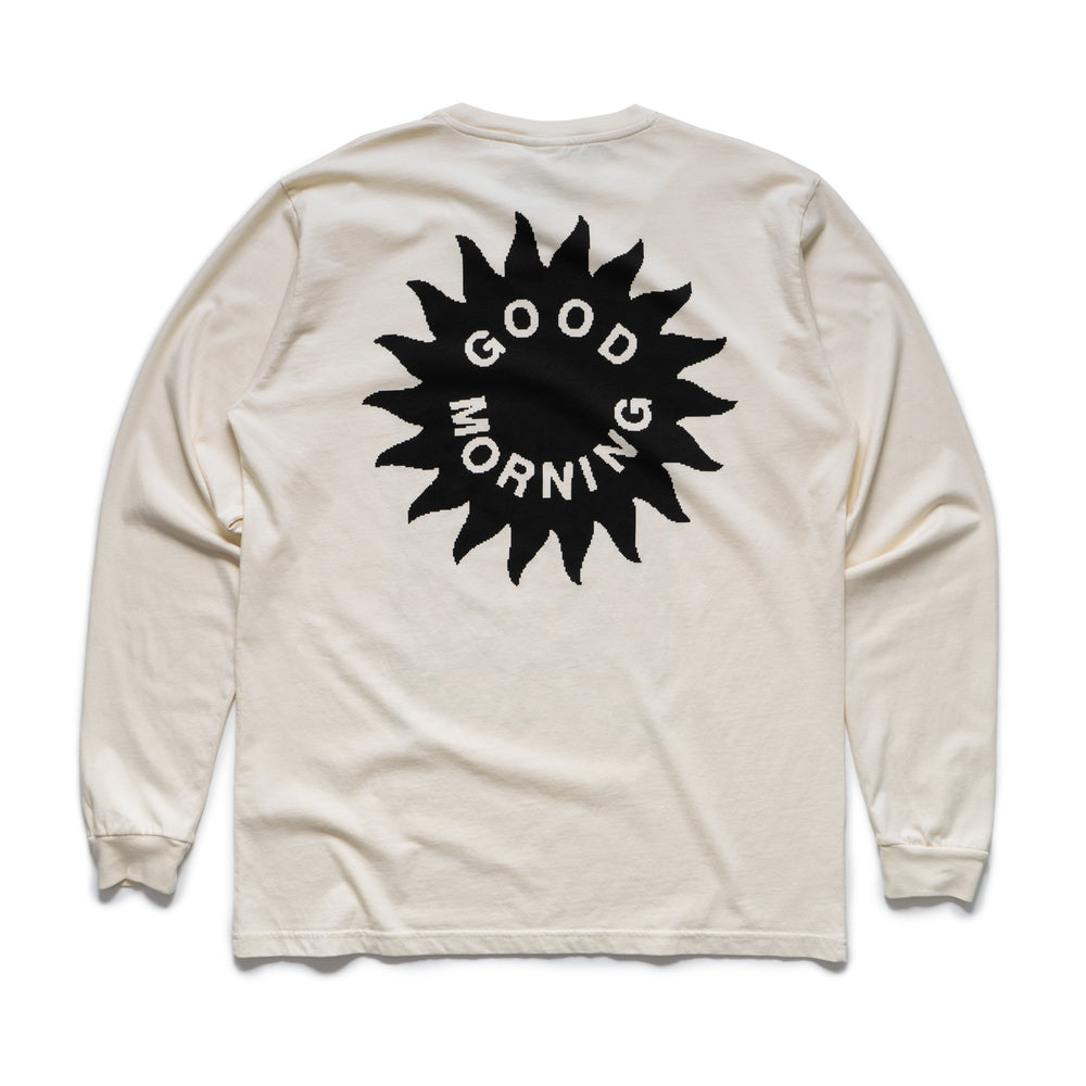 Energy From The Sun L/S Tee - Natural
