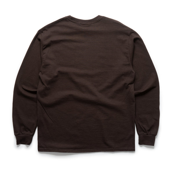 Hardtoread  L/S - Brown