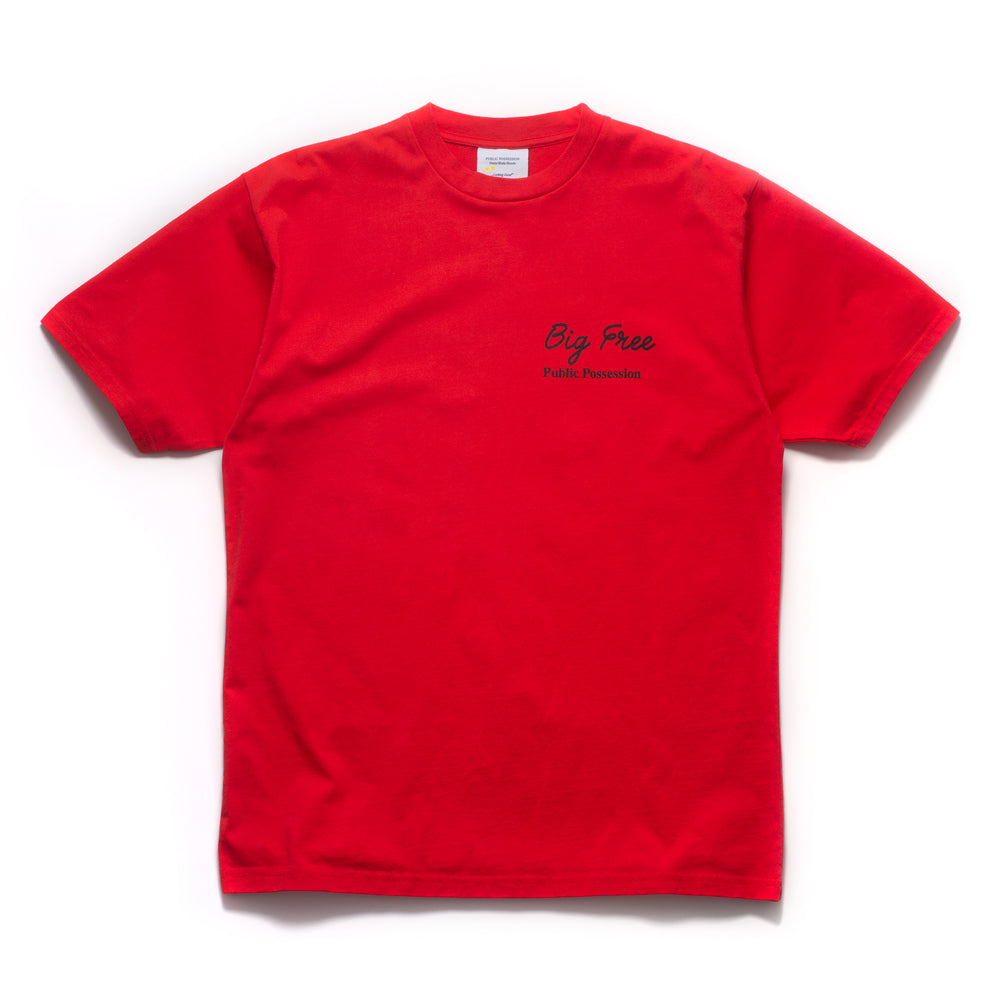 Big Free T-Shirt - Red