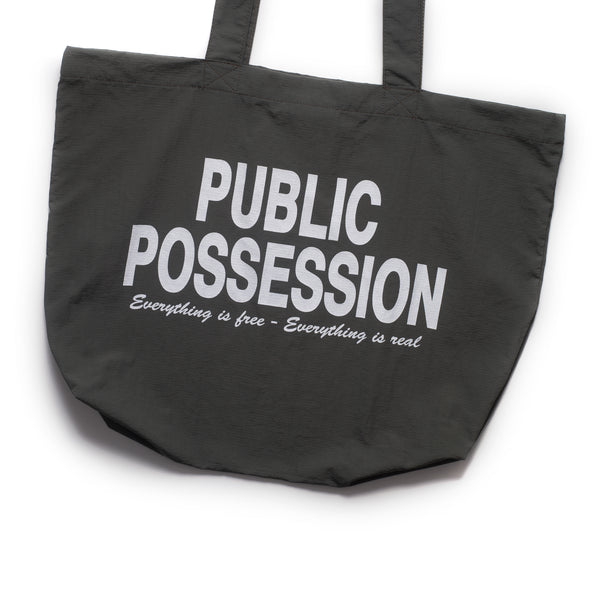 Free And Real Tote Bag - Grey