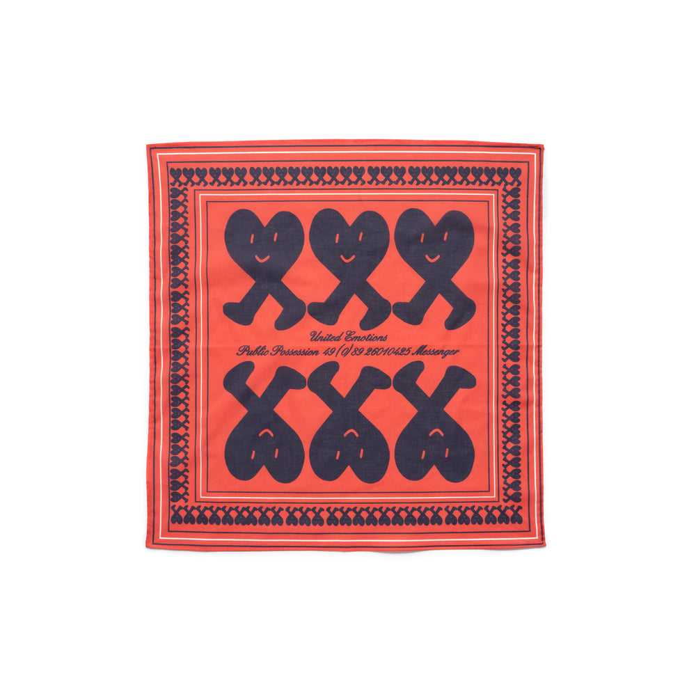 United Emotions Bandana - Red