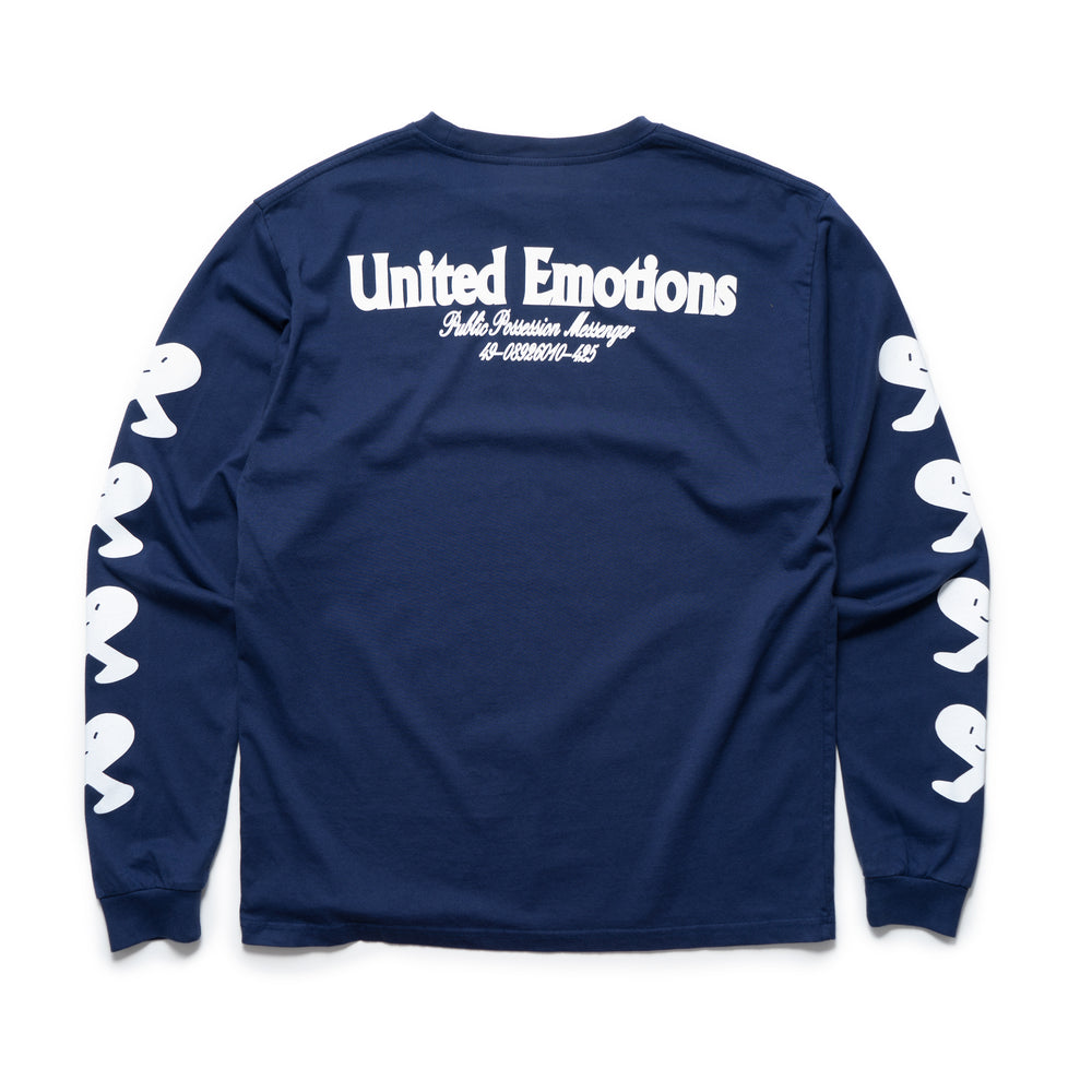 United Emotions L/S Tee - Navy