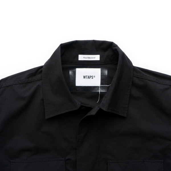 WMILL-LS 01 Shirt - Black