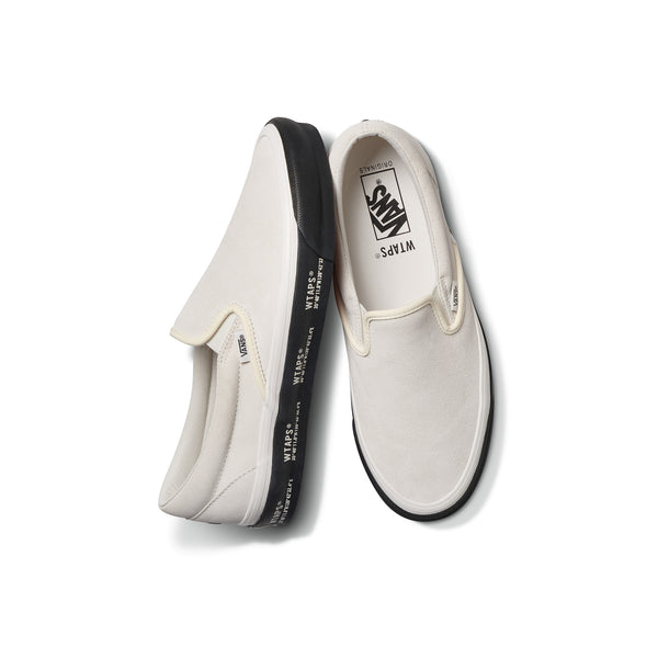 Vans Vault x Wtaps Slip-On - White