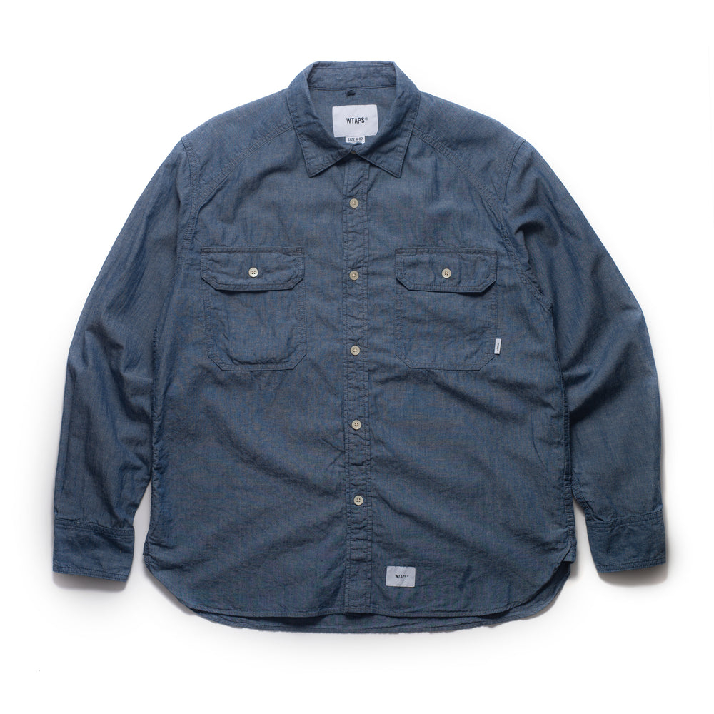 Cell LS Shirt - Indigo
