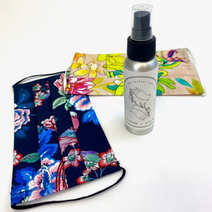 Protection Mask and Sanitizer Gift Package