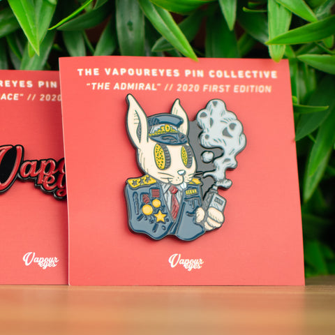 The Vapoureyes Pin Collective - The Admiral