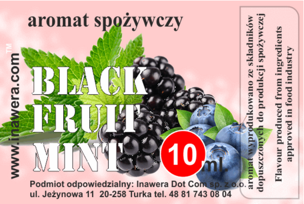 INW Black Fruit Mint – 30ml