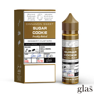 Basix by Glas E-Liquid - Sugar Cookie
