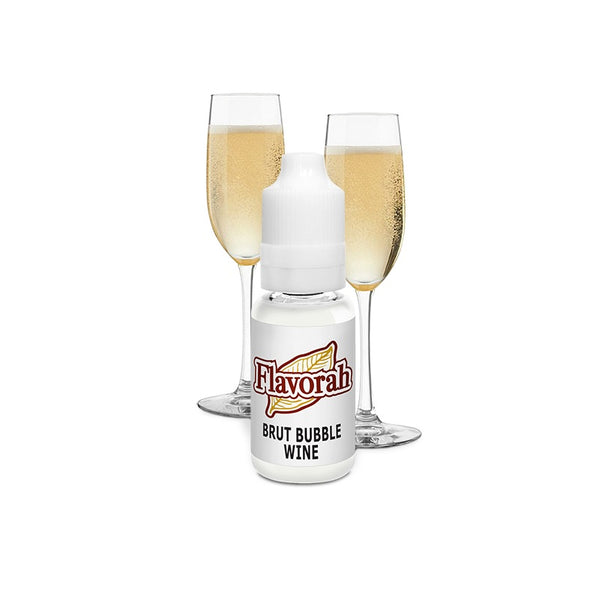 Flavorah Brut Bubble Wine - 30ml