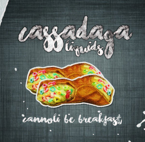 CANNOLI BE BREAKFAST // CASSADAGA LIQUIDS