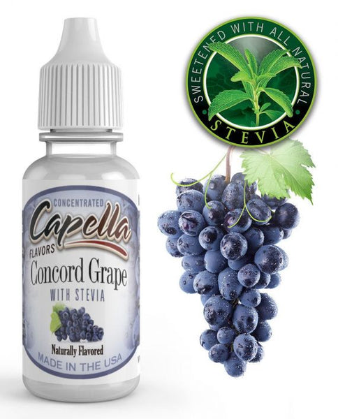 Capella Concord Grape with Stevia – 30ml