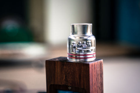 Glass Comp Cap for Royal Hunter RDA - Trinity Tanks USA