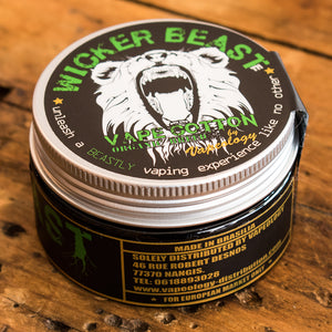 Wicker Beast Cotton Tin