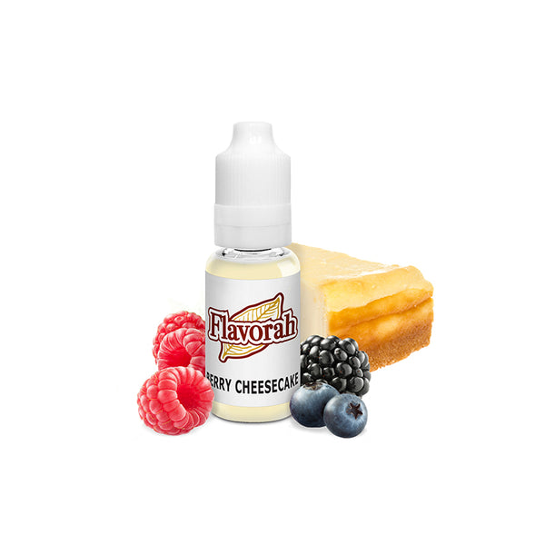 Flavorah Berry Cheesecake - 30ml