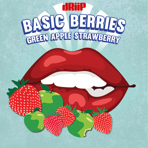 Basic Berries - Green Apple and Strawberry