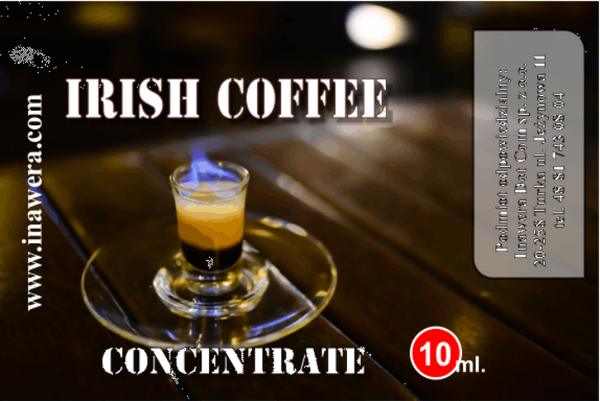 INW Irish Coffee – 30ml