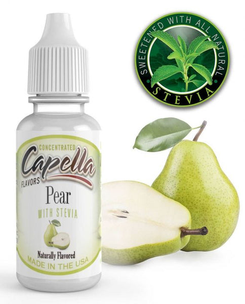 CAP Pear with Stevia – 30ml