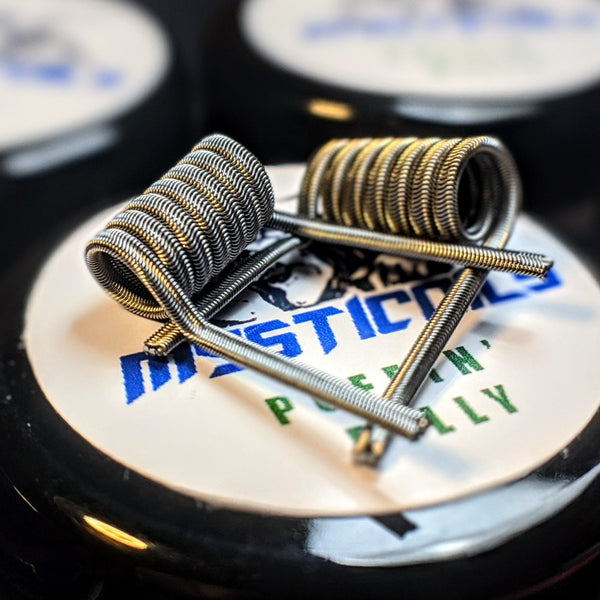 Mysticoils Handmade Puffin' Billy Series Coils