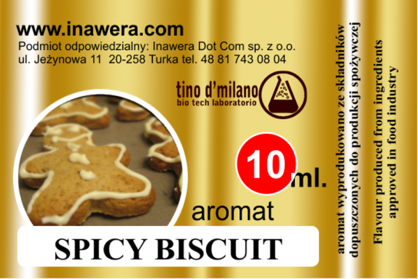 INW Spicy Biscuits – 30ml