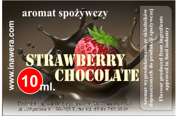 INW Strawberry Dark Chocolate – 30ml