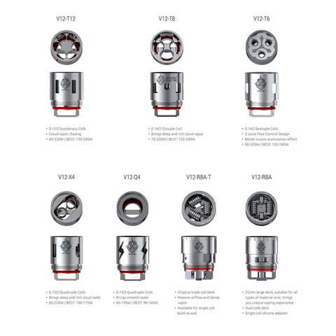 TFV12 Replacement Coils // 3 Pack