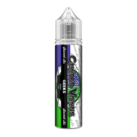 Clouded Visions Sweet As - Geeks Berry Lime
