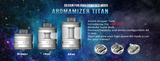 Aromamizer Titan RDTA // 18/28ml 41mm
