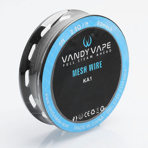 Vandy Vape Replacement Mesh (SS / KA1 / NI80)