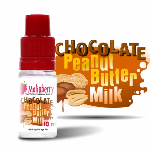 Molinberry Chocolate Peanut Butter Milk – 30ml