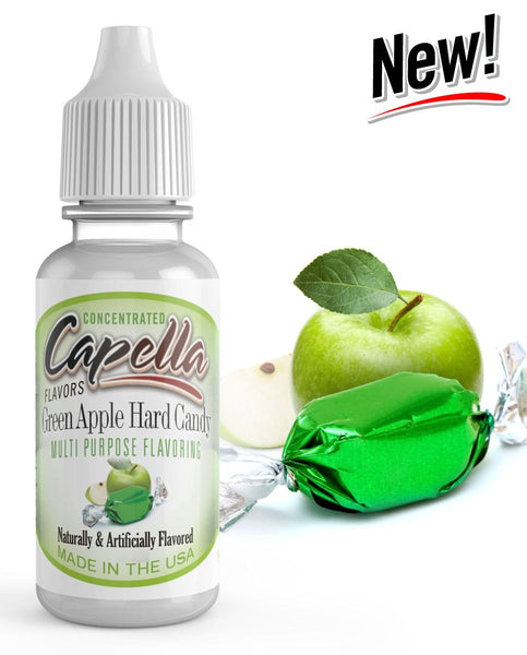 Capella Green Apple Hard Candy – 30ml