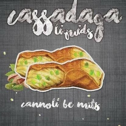 CANNOLI BE NUTS // CASSADAGA LIQUIDS