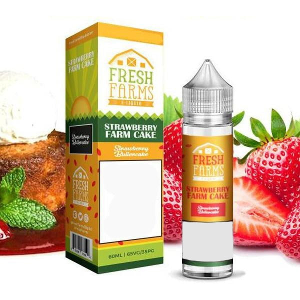 Fresh Farms - Strawberry Farm Cake