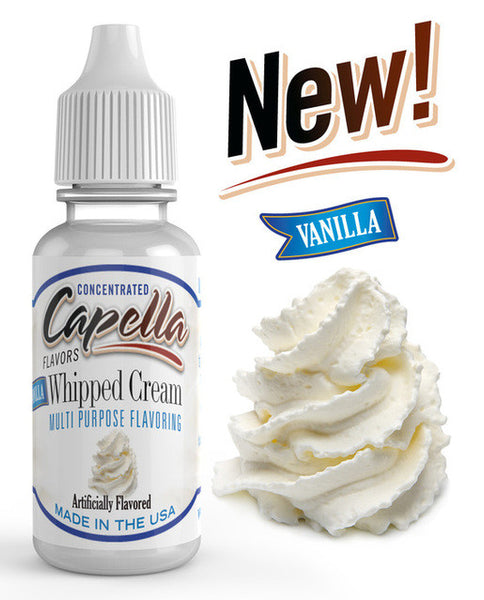 Capella Vanilla Whipped Cream – 30ml