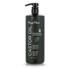 Load image into Gallery viewer, Maya Mari Castor Oil Conditioner, Restore & Shine Formula for Coarse & Coiled Textured Hair, 32 oz