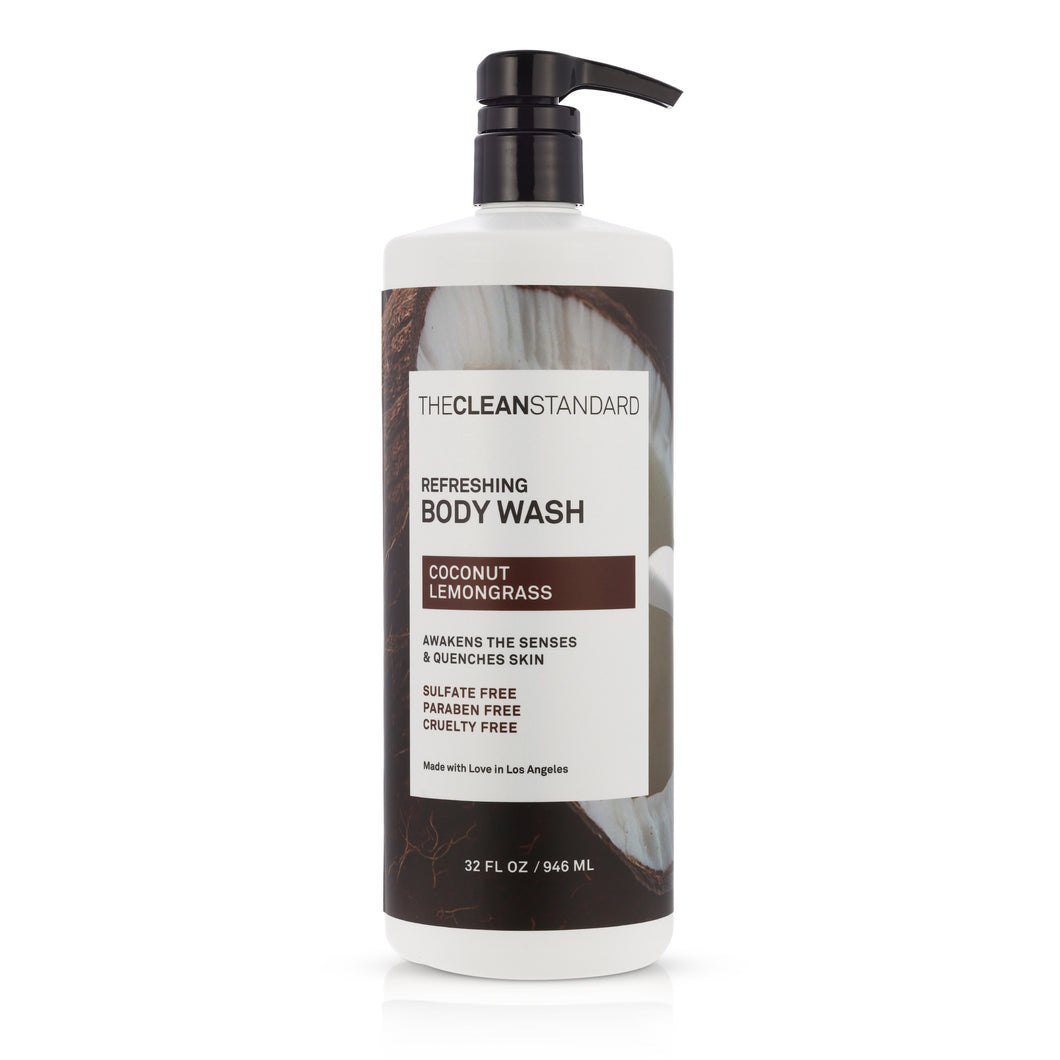 THE CLEAN STANDARD Coconut Lemongrass Body Wash - 32oz