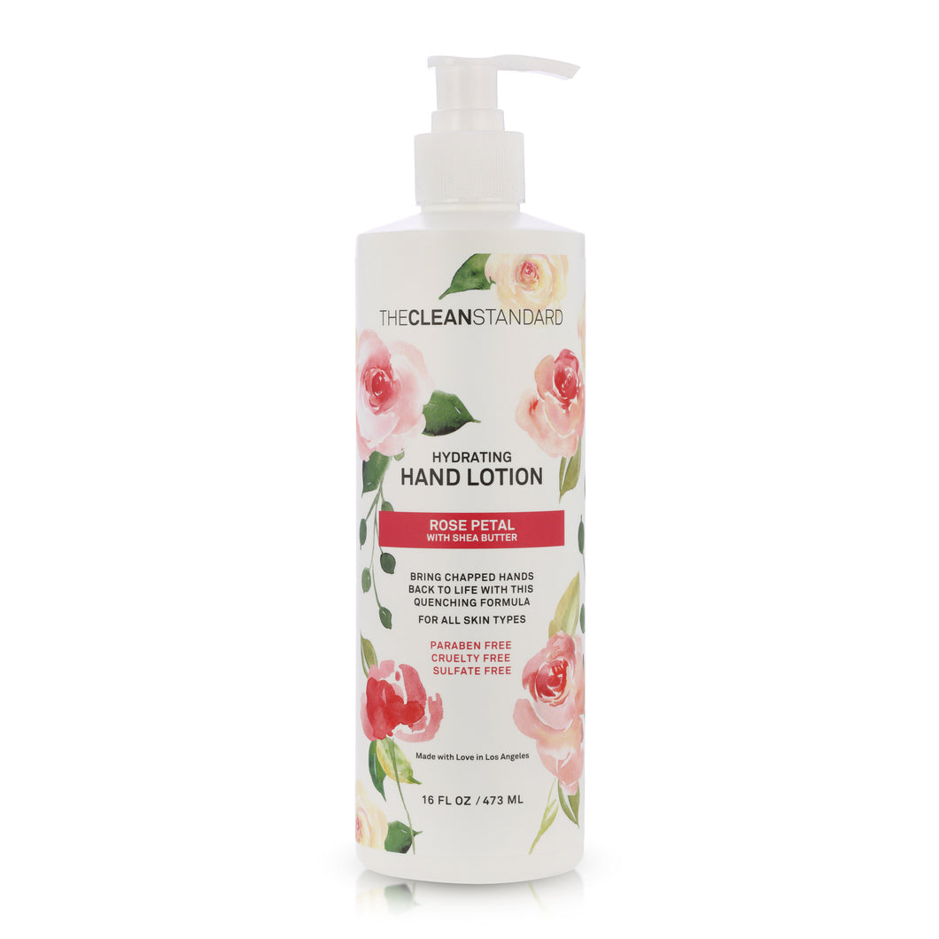 THE CLEAN STANDARD Rose Petal Hand Lotion - 16oz